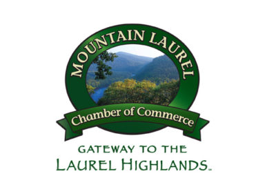 Mountain Laurel Chamber of Commerce - logo with photography by Stephen Simpson