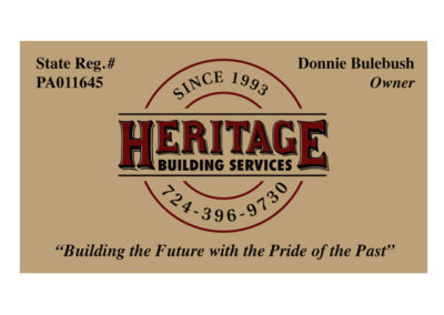 Heritage Building Services