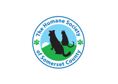 Humane Society of Somerset logo and illustrations