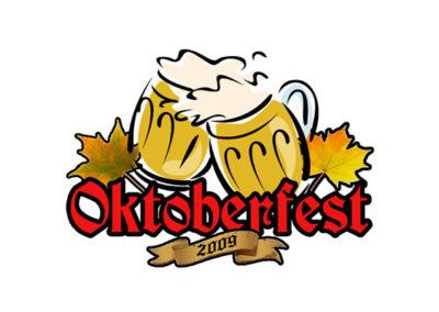 Oktoberfest - church event logo