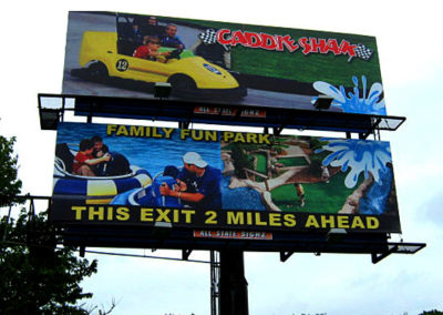 Caddy Shak billboard designs