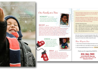 Annual appeal mailer