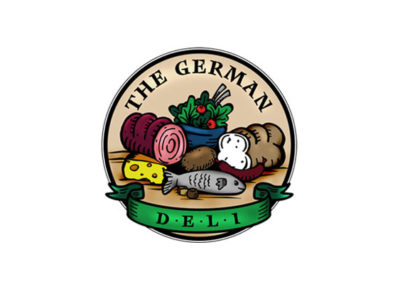 German Deli in Lancaster, PA - logo and illustrations
