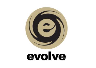 Evolve - team logo idea at Marc Advertising