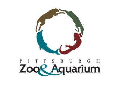 Pittsburgh Zoo and Aquarium logo ideaa